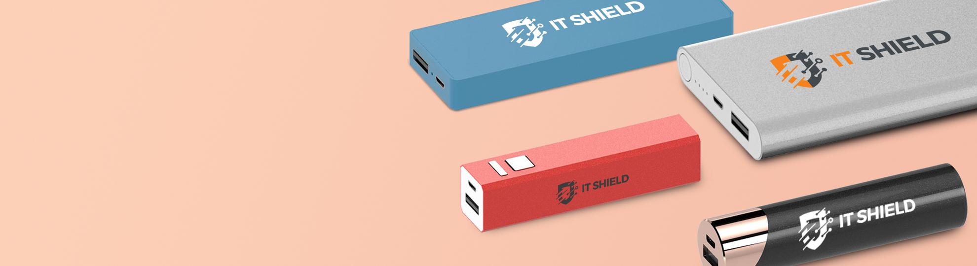 Batterie externe personnalisée publicitaire
