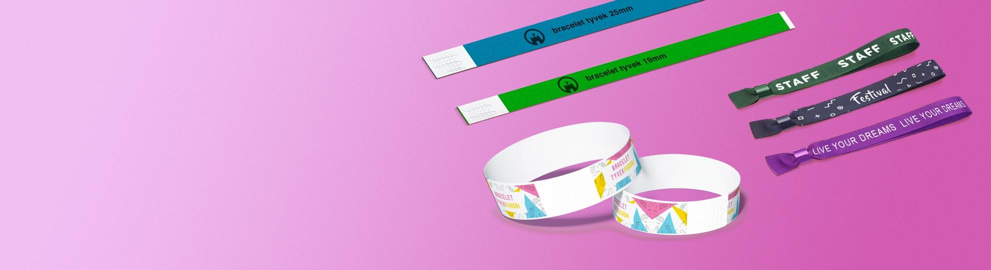 Bracelet express personnalisé publicitaire