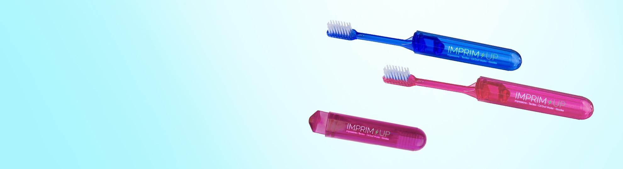 Brosse à dents publicitaires personnalisées