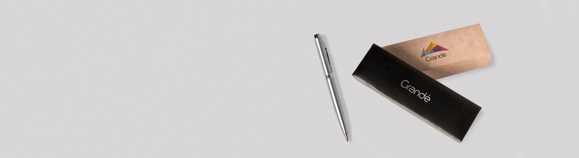 Coffret stylo personnalisé publicitaire