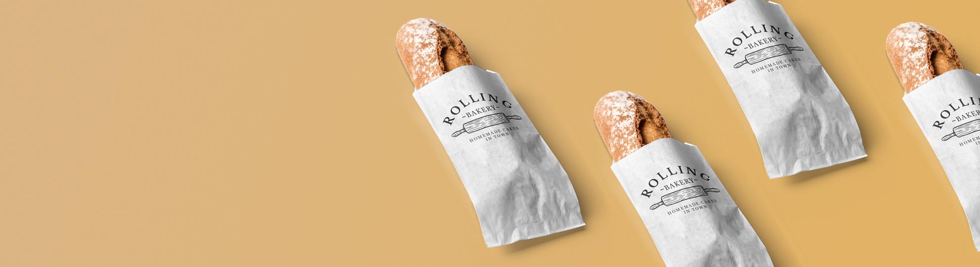 Impression sac à baguette pour boulangerie