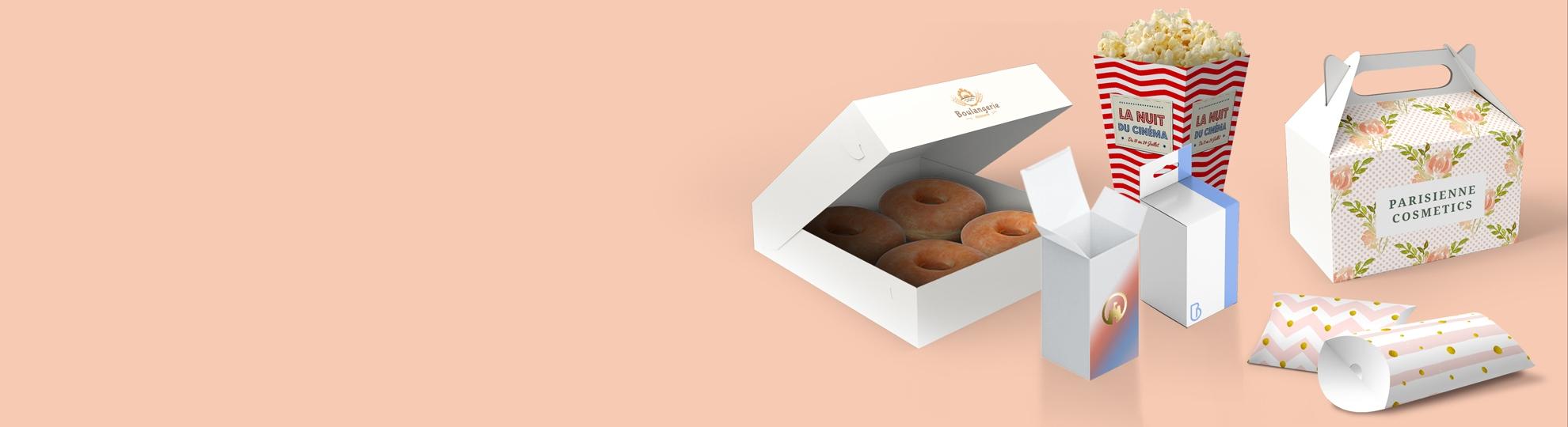 Impression packagings et emballages personnalisés