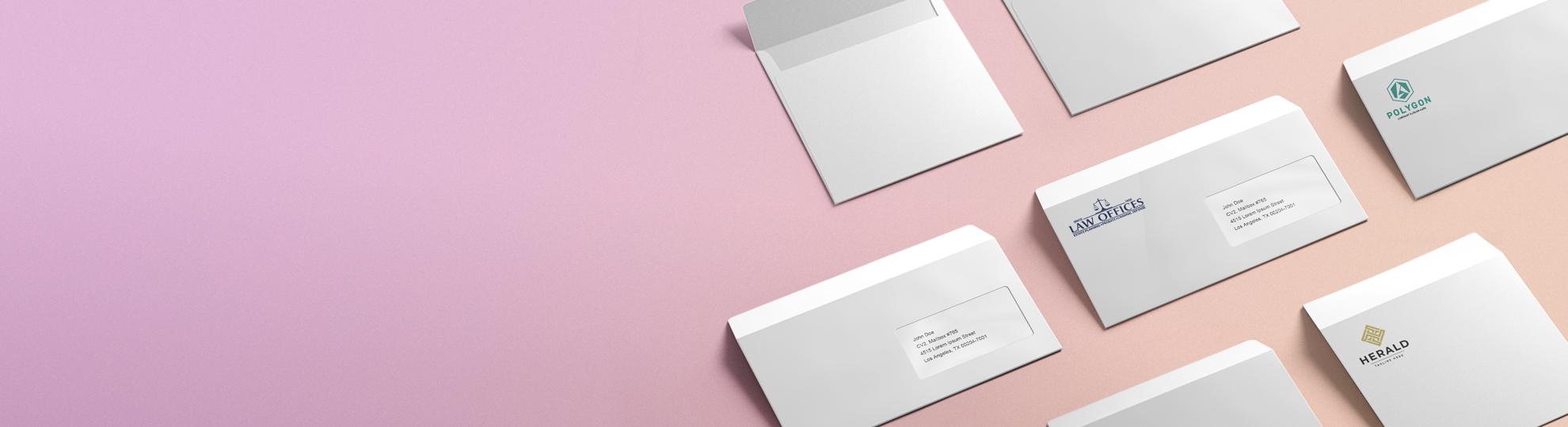 Imprimer enveloppes personnalisées en ligne envoi express