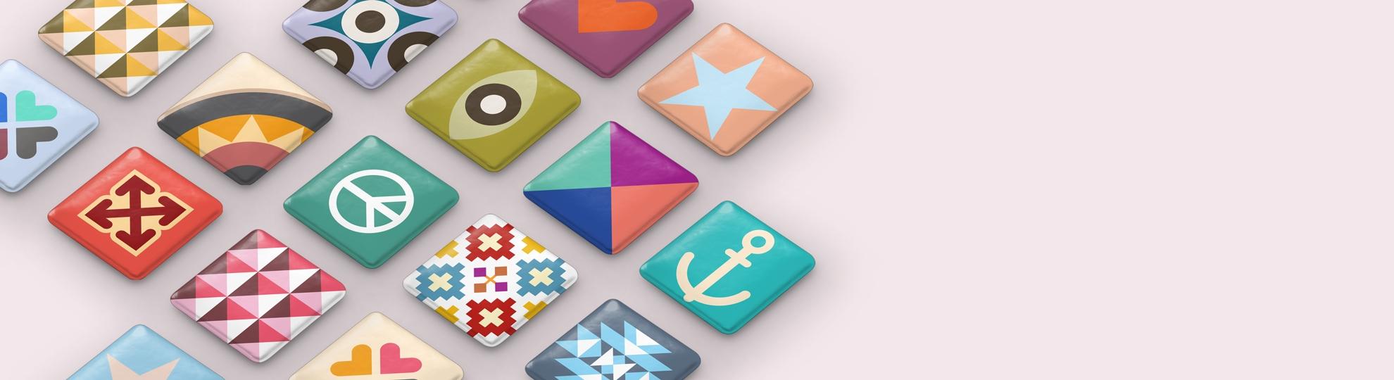 Stickers relief et autocollants 3D personnalisés, doming