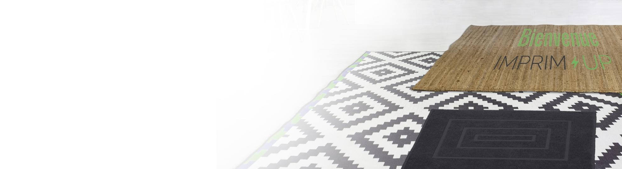 Imprimer tapis de sol personnalisable