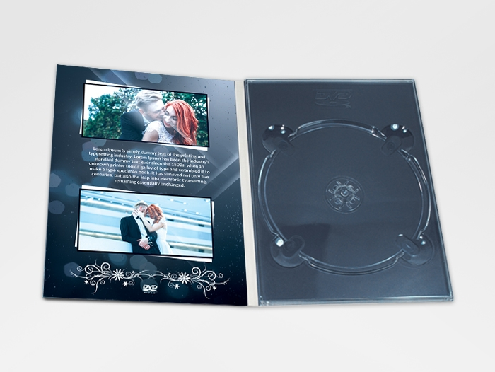 Impression digipack DVD