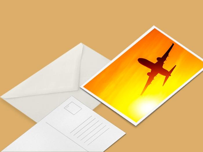 Carte postale express
