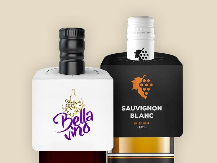 Collerettes pour bouteilles / Etiquettes pas chère