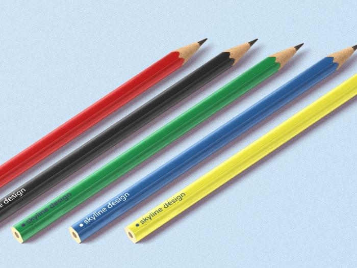 Crayon personnalisé publicitaire pas cher