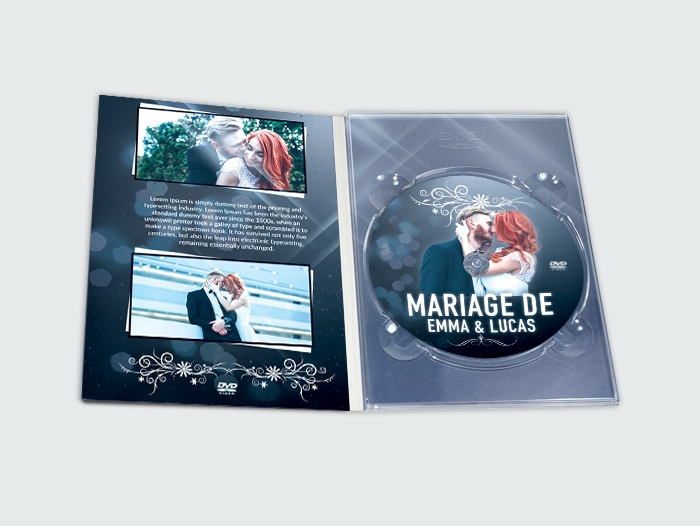 pressage Digipack grand DVD