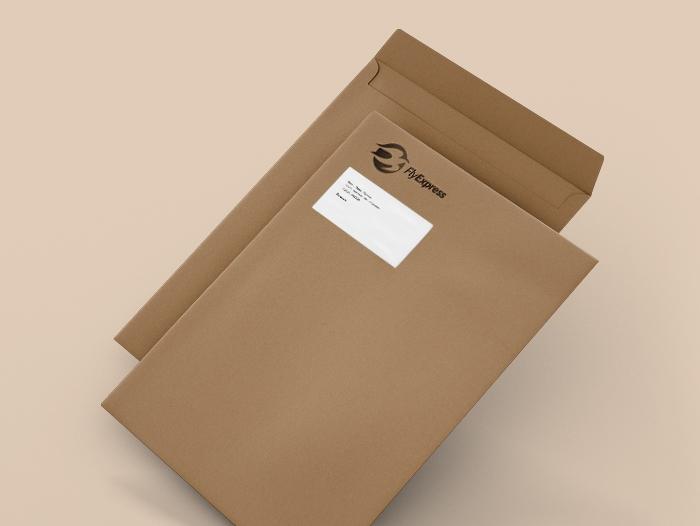 Enveloppe cartonnée pas chère