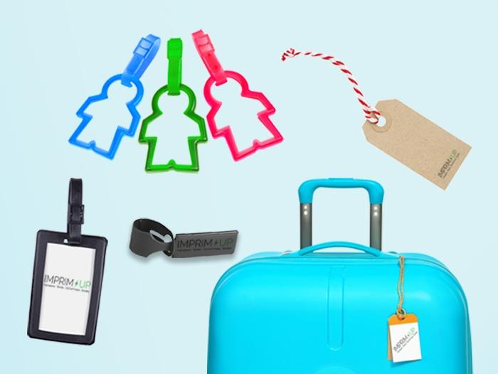 Impression Etiquette de bagage