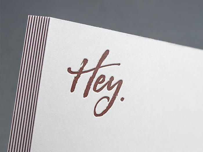Impression flyer letterpress pas cher
