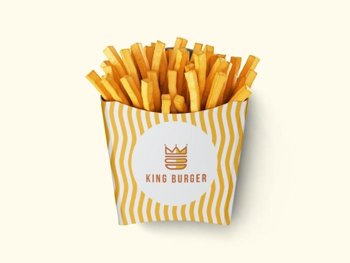 Emballage frites