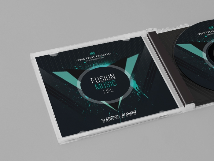 Impression livret jaquette cd
