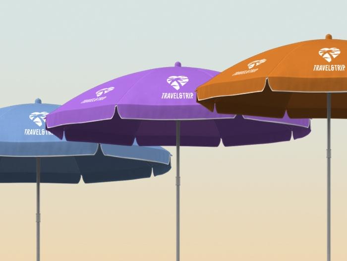 Impression Parasol publicitaire pas cher