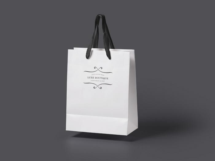 Impression sac papier pour boutique