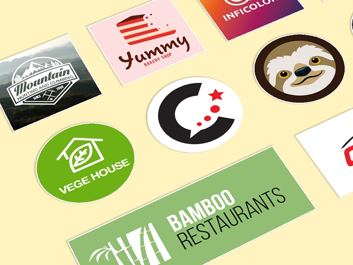 Impression sticker vegan pas cher