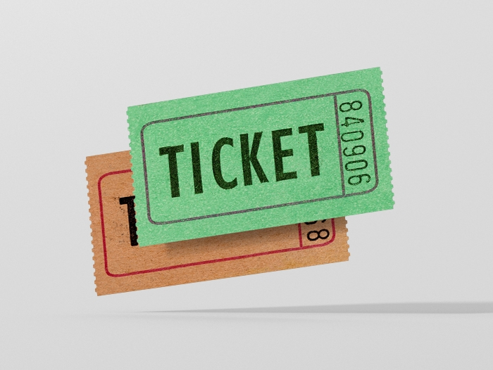 Impression ticket pas cher