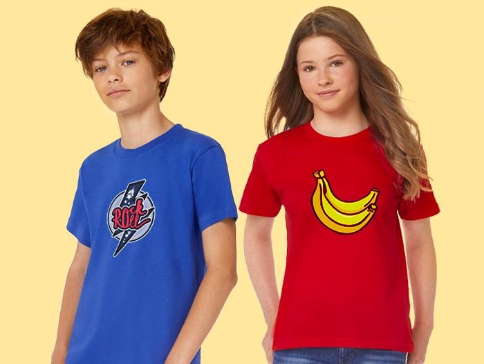 Impression t-shirt personnalisé enfant