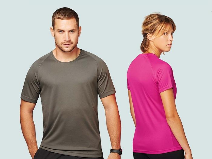 Impression t-shirt personnalisé sport