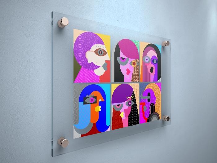 Impression Verre acrylique pas cher