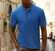 FRUIT OF THE LOOM - Homme polo piqué réf.63402 180g